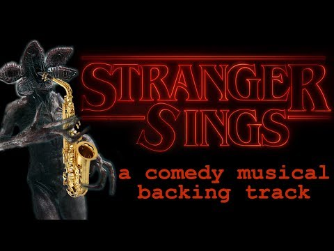 STRANGER SINGS — A comedy musical backing track!
