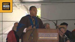 Freeman Hrabowski at Harvey Mudd College, 2010