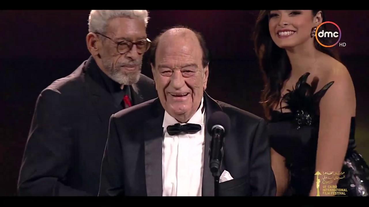 مهرجان القاهرة السينمائي الدولي - ندوة تكريم الفنان