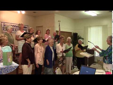 Easter Parade, Live Oak Woman's Club Chorus 2019-04-05