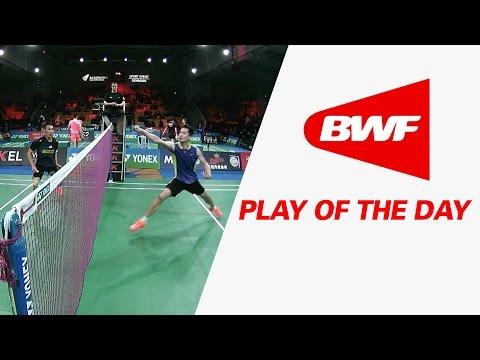 Play Of The Day   Badminton R16 – Yonex Denmark Open 2015