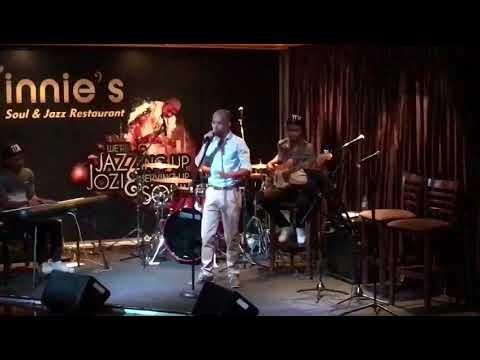 Tim DjLatiemboSA Davids - Crocodile tears  (Garth Taylor) with The Sequence Band.