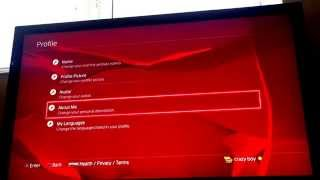 How to change your profile picture (PS4)