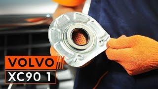 Come sostituire il montante dell'ammortizzatore anteriore su VOLVO XC90 1 [TUTORIAL]