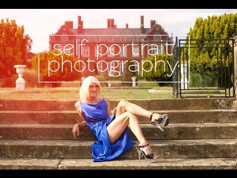 on location with lexi 📷 self portrait photography glamorous fashion shoot