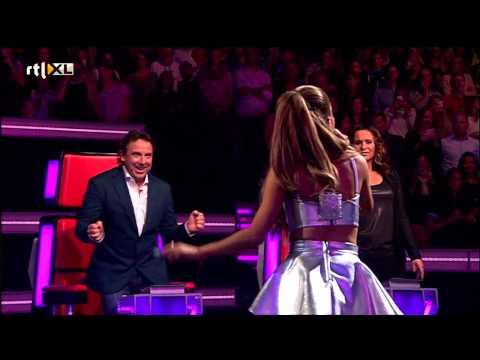Ariana Grande - Break Free (The voice of Holland: Liveshow 1) [HD]