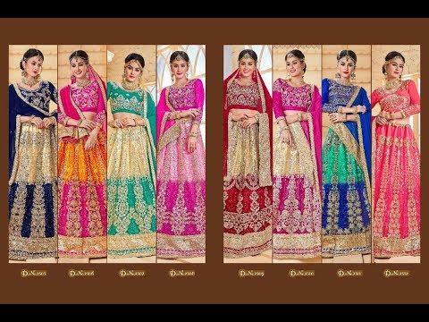 Buy Wedding wear Lehenga Choli | | Sun star || Surattextilebazaar
