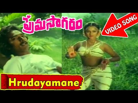 Hrudayamane Video Song - Prema Sagaram Telugu Movie - Ramesh, Nalini - V9videos