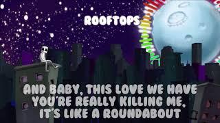 Marshmello ROOFTOPS (Lyrics)