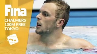 Junior World Record for Kyle Chalmers - 100m Freestyle #8 Tokyo