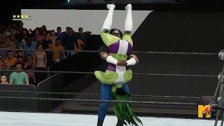 WIWA Wrestling Match #273: God Father vs She Hulk