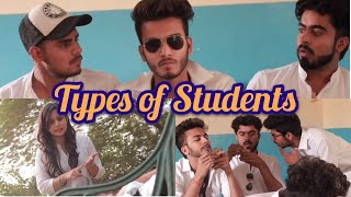 TYPES OF STUDENTS IN A CLASSROOM - | Elvish Yadav |
