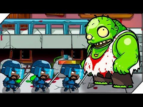 ГИГАНТСКИЙ ЗОМБИ - Игра Swat And Zombies # 5 Андроид игры про зомби - Простые вкусные домашние видео рецепты блюд