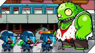 ГИГАНТСКИЙ ЗОМБИ - Игра Swat And Zombies # 5 Андроид игры про зомби