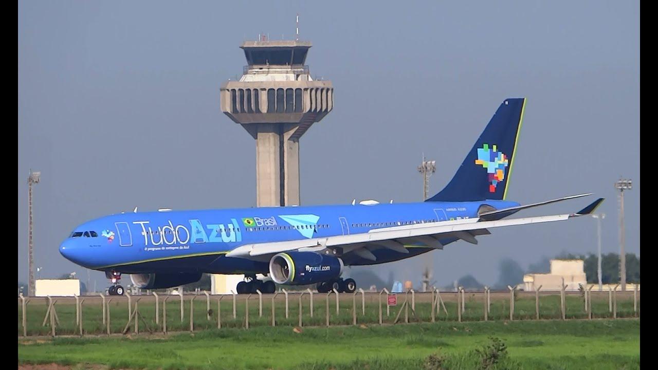 Azul Linhas Aéreas A330243 at Viracopos Airport VCP