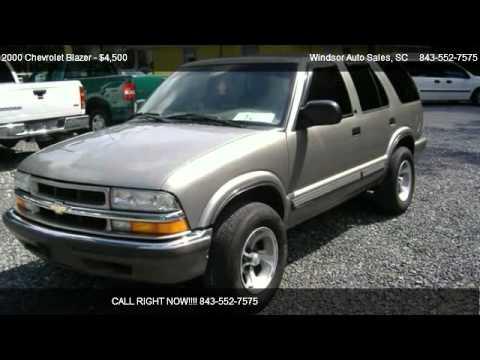 2000 Chevrolet Blazer Lt 4x4 For Sale In Charleston Sc 29418