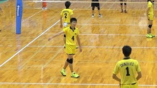 Taito Mizumachi(15 years old) Awesome Spike in Inter Highschool 2017 Japan Volleyball