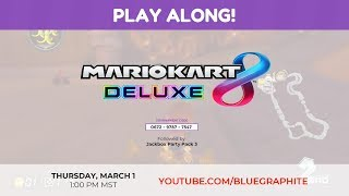 Mario Kart 8 Deluxe + Jackbox Party Pack 3 [PLAY ALONG!]