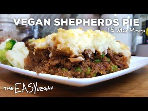 Cheesy Vegan Shepherd's Pie – 15 min Prep