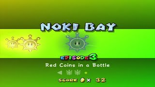 Super Mario Sunshine - Noki Bay - Episode 3: Red Coins in a Bottle