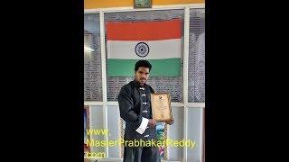 Nellore Karate Indian Best Martial arts Coach Master Prabhakar Reddy AP Shaolin Kung-fu