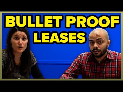 16 Points To A Bullet Proof Lease Signing