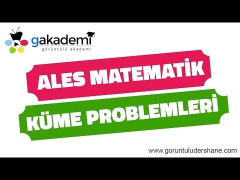 ALES Matematik Küme Problemleri