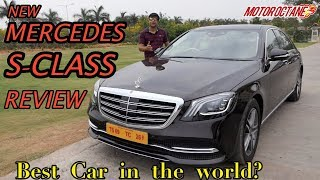 Best Car in the World? Mercedes S Class Review in Hindi | MotorOctane