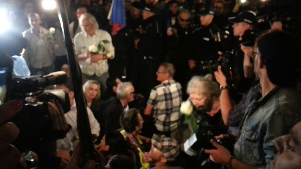 Blokada Obywateli RP podczas 89. miesięcznicy smoleńskiej