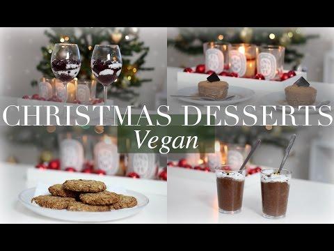 Christmas Desserts (Vegan/Plant-based) | JessBeautician