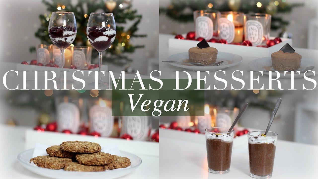 christmas desserts veganplant based jessbeautician