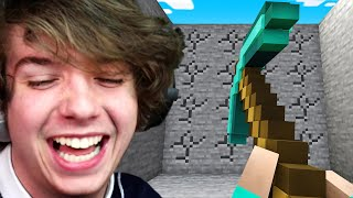 Minecraft But All Items Are Massive!