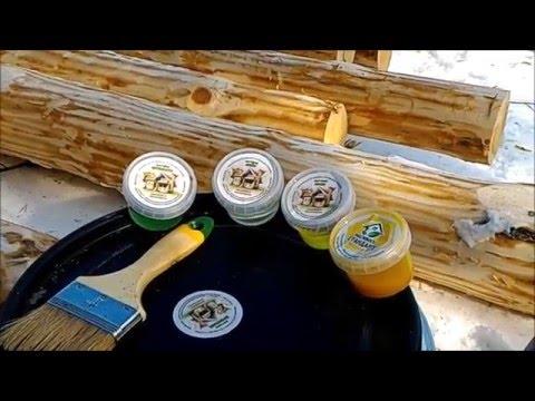 Чем обработать сруб бани внутри и снаружи?