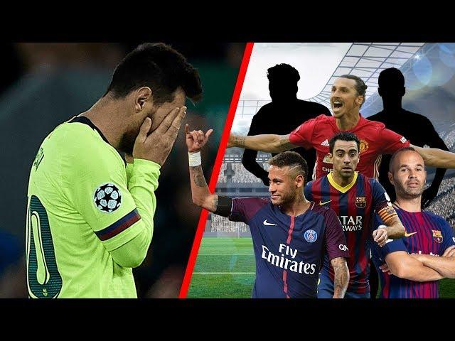 Hacen el ranking de los 10 MEJORES FUTBOLISTAS de la década ¡Messi termina segundo!