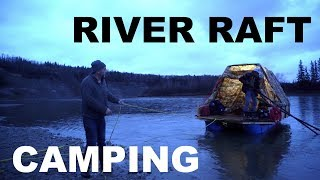 DIY Barrel Raft River Trip Camping On Boat