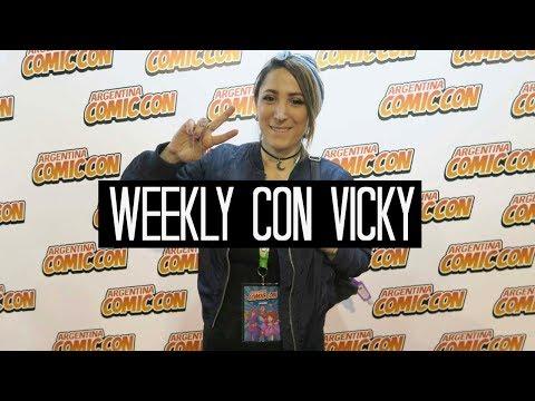 WEEKLY CON VICKY ☠  tatuajes, Comic con y Get Bass en la radio