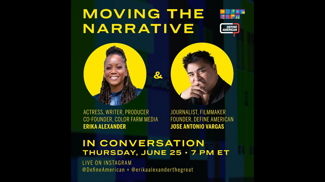 Erika Alexander and Jose Antonio Vargas on #BlackLivesMatter and why this moment is so unique