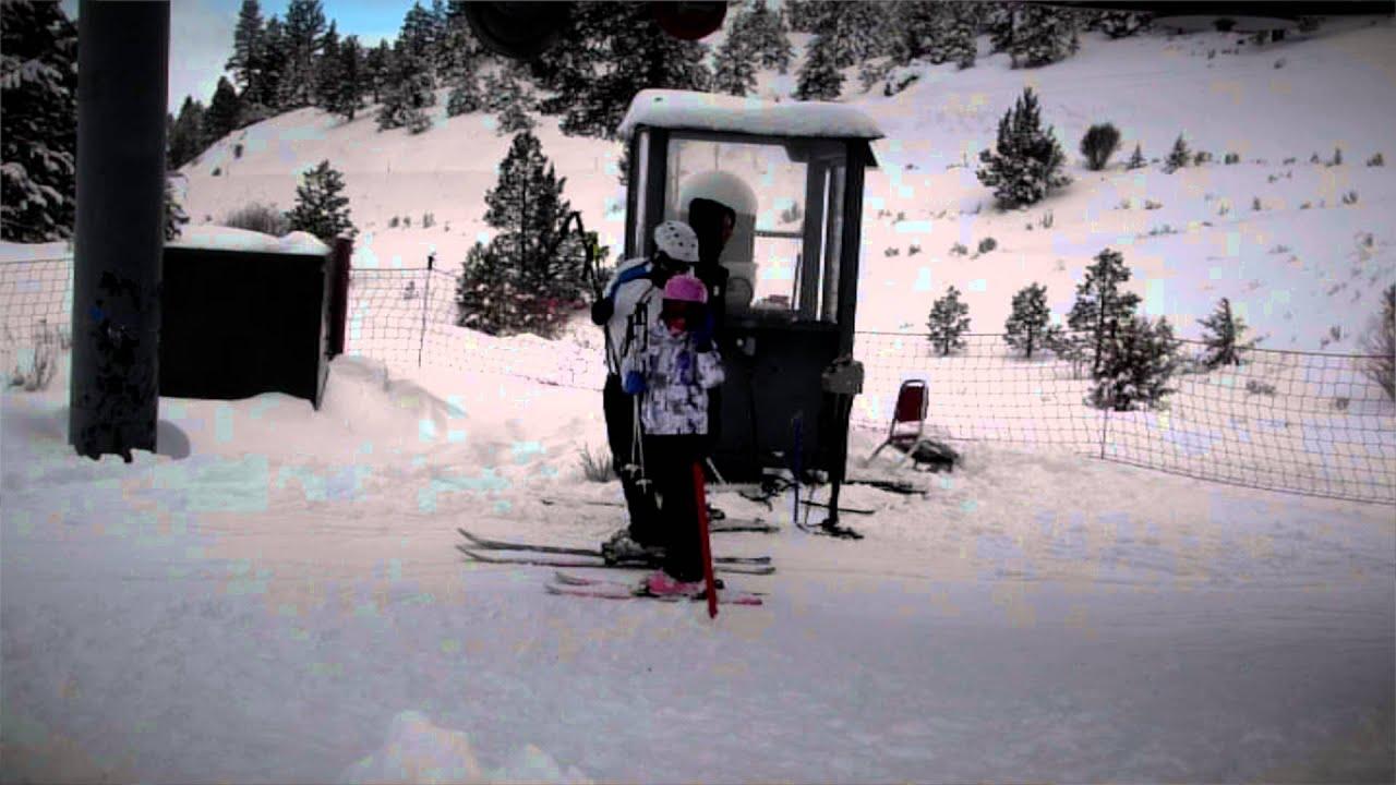 warner canyon ski area opening day 12-23-2015 - youtube