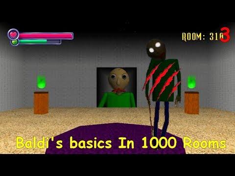 Baldi's basics In 1000 Rooms (SHOJ Mod) V.1 Part3
