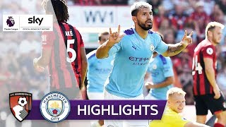 Doppelpack von Aguero | AFC Bournemouth - Manchester City 1:3 | Highlights - Premier League 2019/20