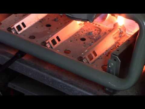 How do you clean a furnace flame sensor?
