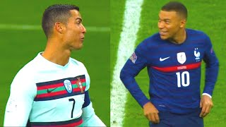 This is WHAT HAPPENED when MBAPPE met RONALDO during FRANCE vs PORTUGAL match