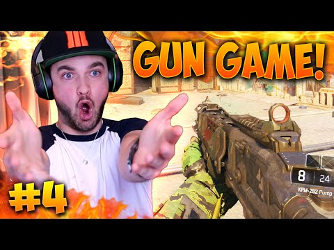 """WHO DO I SHOOT...!?"" - Black Ops 3 GUN GAME! #4 - LIVE w/ Ali-A"