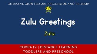 Montessori Additional Language Presentation - Zulu Greetings