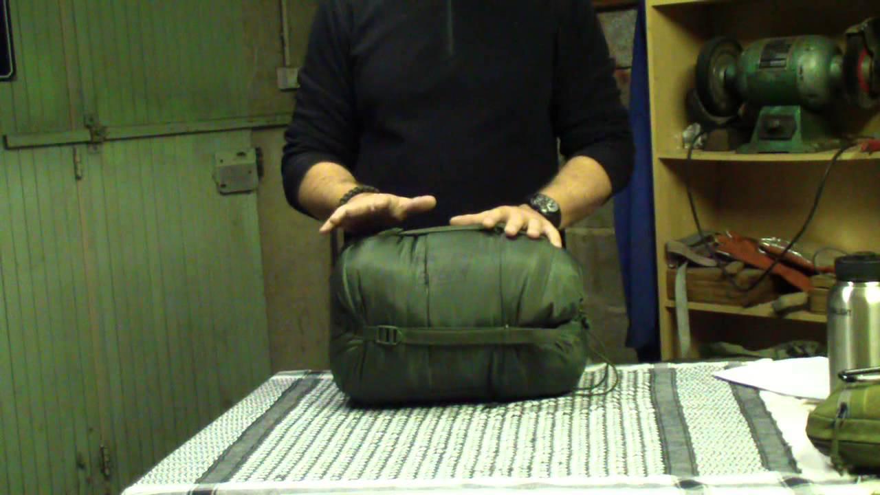 Présentation et revue du sac de couchage Snugpak Softie Elite 4
