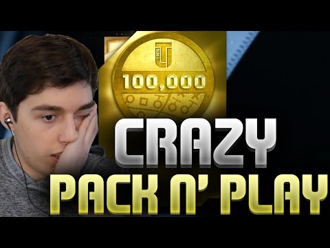 CRAZY HALF MILLION COIN PACK AND PLAY! MADDEN 16