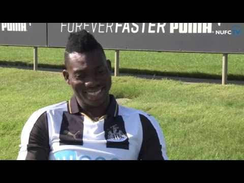 Christian Atsu joins Newcastle United on a season-long loan