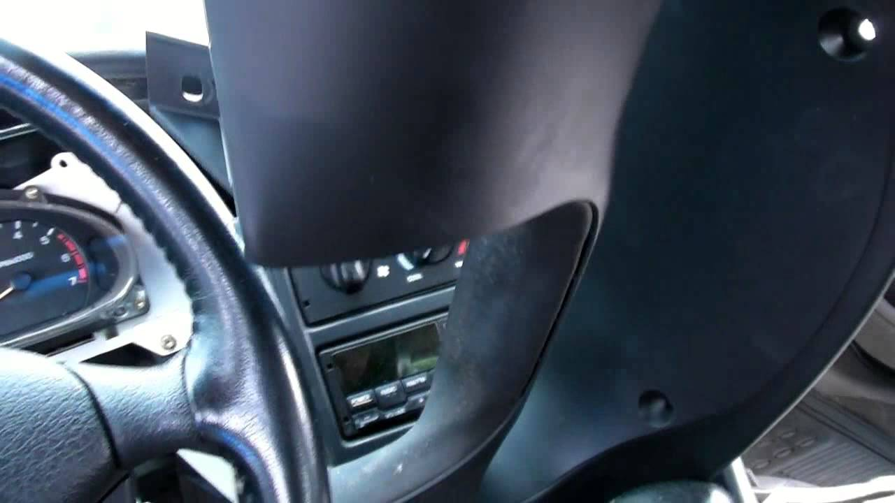 how to change a turn signal wiper control switch on a ford lincoln or mercury youtube [ 1280 x 720 Pixel ]