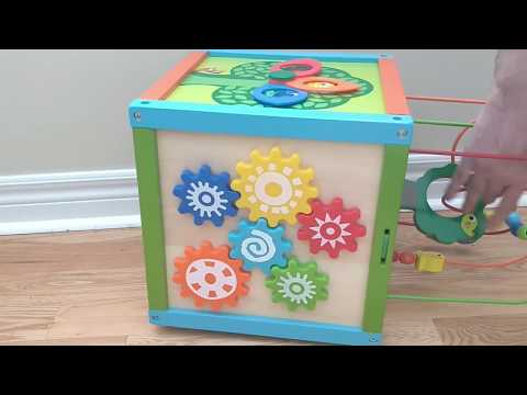 Imaginarium 5 Way Activity Cube Review And Play Demo Funtime