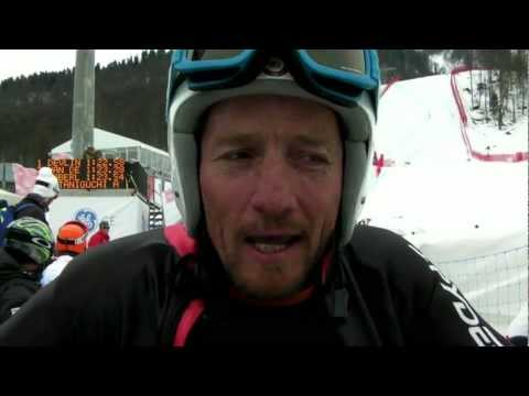 USA's Christopher Devlin-Young wins men's downhill sitting - 2013 IPC Alpine Skiing World Cup Finals